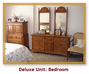 Deluxe Unit Bedroom