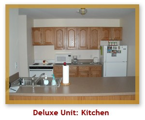 Deluxe Unit Kitchen