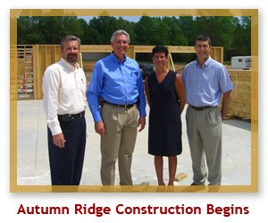 Autumn Ridge Construction Begins