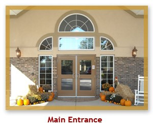 Autumn Ridge Main Entrance