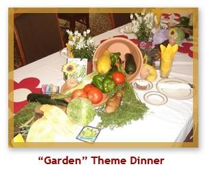 Garden Theme Dinner
