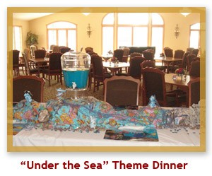 Under the Sea Theme Dinner